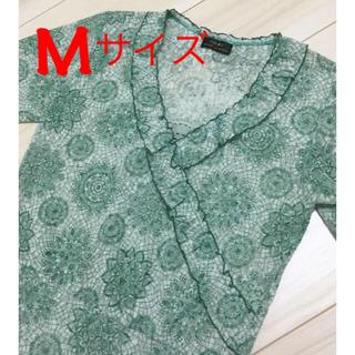 イオリ(IORI)のイオリ  レース調カットソー(カットソー(長袖/七分))