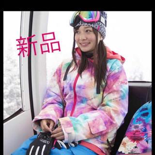 ロキシー(Roxy)の【新品】 定価4万 エスティボ スノボウェア レディース スノーボード(ウエア/装備)