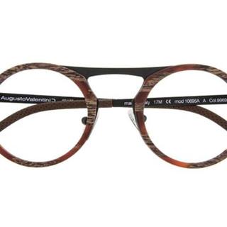 ゾフ(Zoff)の新品Augusto Valentini×zoff限定販売眼鏡メタルフレームメガネ(サングラス/メガネ)