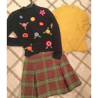 ザスコッチハウス(THE SCOTCH HOUSE)の子供服(140) トップス&ミニスカート(スカート)