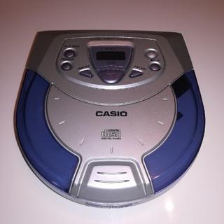 カシオ(CASIO)のCASIOポータブルCD プレーヤー(ポータブルプレーヤー)