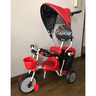 アイデス(ides)のCARGO+ 三輪車 シェード付き★ides カーゴ(三輪車)