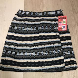 シマムラ(しまむら)のニット キルティングスカート(ひざ丈スカート)