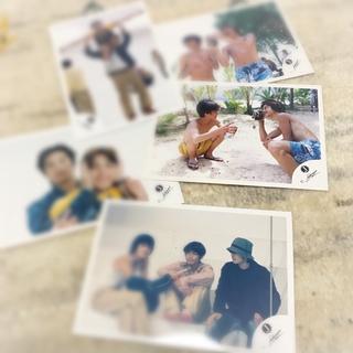 タッキーアンドツバサ(タッキー&翼)の滝沢秀明さんジャニーズJr.時代の公式販売写真5枚セット(アイドルグッズ)