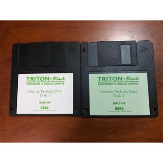 コルグ(KORG)のKORG Triton Rack factory Preload初期化用DISK(音源モジュール)