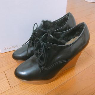 スリーワンフィリップリム(3.1 Phillip Lim)の【SALE】プラットフォームシューズ(ローファー/革靴)