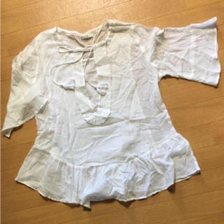 アカチャンホンポ(アカチャンホンポ)の授乳服 普段着にも! レースチュニック M〜L(マタニティトップス)