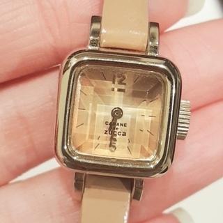 カバンドズッカ(CABANE de ZUCCa)のズッカZUCCaキャメル時計(腕時計)