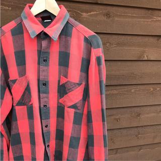 ウエアハウス(WAREHOUSE)のネルシャツ  RUGGED made  in usa(シャツ)