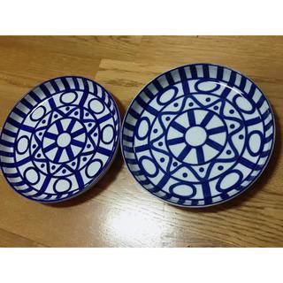 ダンスク(DANSK)のダンスク アラベスク サラダプレート 2枚 DANSK 皿 食器 21cm(食器)
