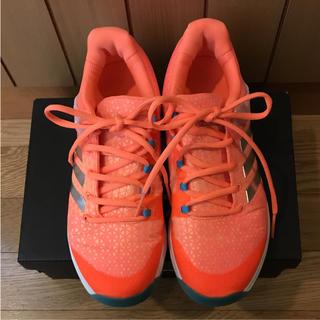 アディダス(adidas)のアディダス☆テニスシューズ  アディゼロウーバーソニック2W 24cm(シューズ)