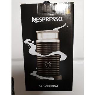かがやき様専用 Nespresso☆エアロチーノ3☆(エスプレッソマシン)