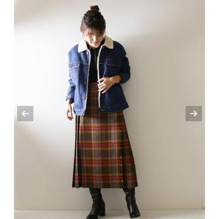 オニール(O'NEILL)の【O'NEIL OF DUBLIN】ラッププリーツロングスカート◆(ロングスカート)