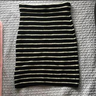 プラージュ(Plage)の値下げ Plage♡ボーダーニットスカート(ひざ丈スカート)