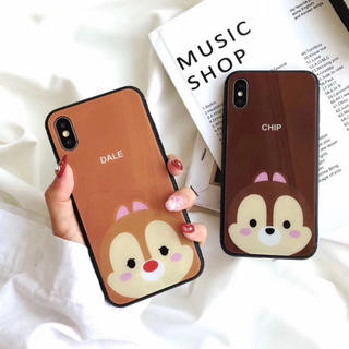 chip'ndale✩iPhoneガラスケース