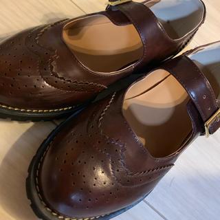 ハコ(haco!)のウイングチップシューズ(ローファー/革靴)