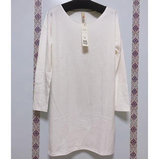 キュー(Q)の新品 Q ロングTシャツ  ワンピース(ひざ丈ワンピース)