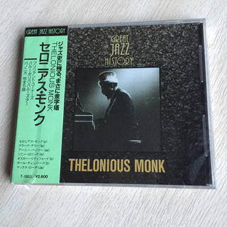 ジャズCD セロニアス モンク GRATE JAZZ HISTORY(ジャズ)