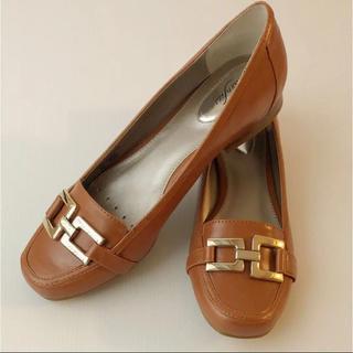 新品⭐️ ALFANI アルファニ ローヒール フラット パンプス US9(ローファー/革靴)