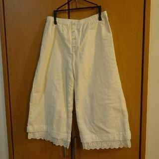 ムジルシリョウヒン(MUJI (無印良品))の無印良品 裾レースペチパンツ 未使用品(その他)