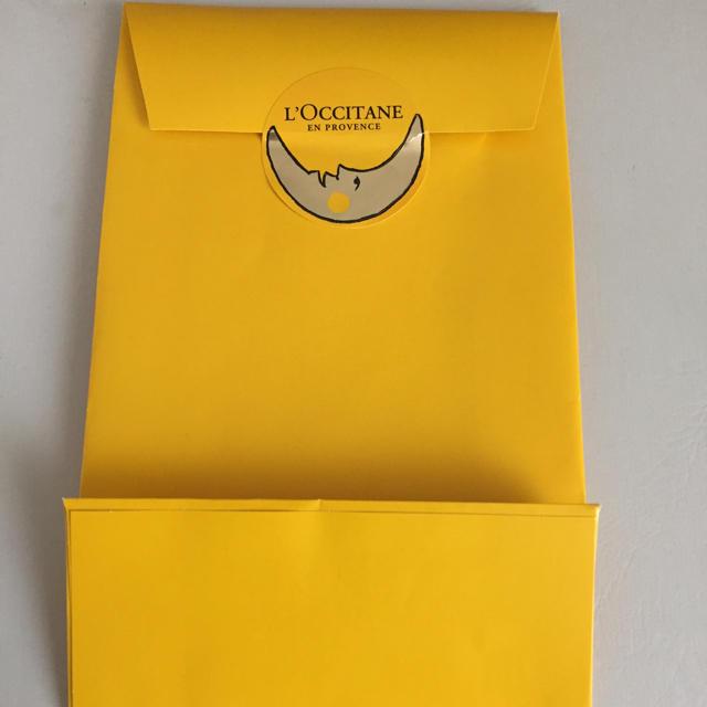 L'OCCITANE(ロクシタン)のロクシタン ラッピング袋 インテリア/住まい/日用品のオフィス用品(ラッピング/包装)の商品写真