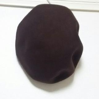 オーバーライド(override)のオーバーライド オーバンベレー こげ茶(ハンチング/ベレー帽)