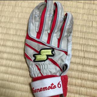 エスエスケイ(SSK)の金本知憲 実使用 バッティンググローブ 手袋(記念品/関連グッズ)