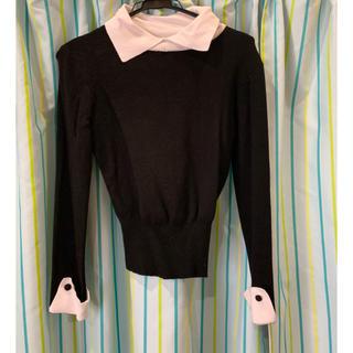 デイジークレア(DazyClair)のシャツ風ニット(ニット/セーター)