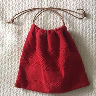 ビューティアンドユースユナイテッドアローズ(BEAUTY&YOUTH UNITED ARROWS)の未使用 charrita 18SS 巾着バッグ(その他)