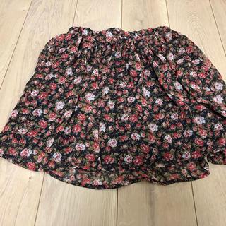 シネマクラブ(CINEMA CLUB)の花柄スカート(ひざ丈スカート)