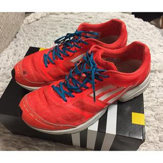 アディダス(adidas)のadizero feather アディゼロ フェザー 27.5(シューズ)