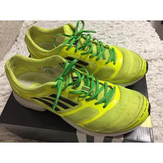 アディダス(adidas)のアディゼロ adizero feather フェザー 27.0(シューズ)