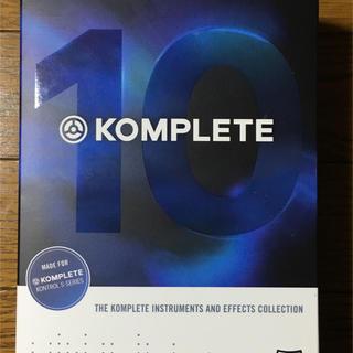 KOMPLETE 10 未使用(ソフトウェア音源)