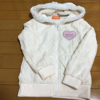 シマムラ(しまむら)のしまむら モコモコ パーカー 110(ジャケット/上着)