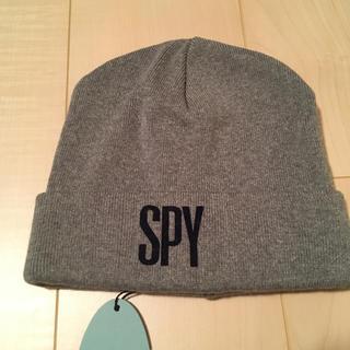 スパイ(SPY)のニット帽 SPY 綿100% 新品(ニット帽/ビーニー)