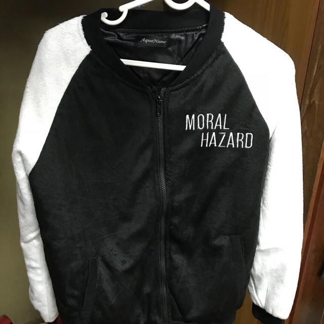 AquaName(アクアネーム)のスカル柄ブルゾン レディースのジャケット/アウター(ブルゾン)の商品写真