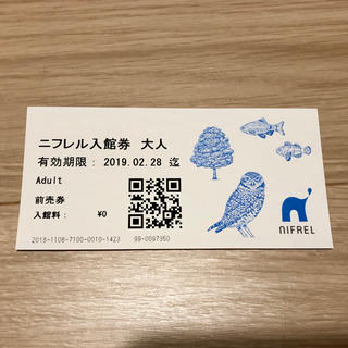 ニフレル チケット 入館券(水族館)