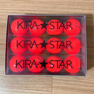 キャスコ(Kasco)のキャスコ ゴルフボール キラスター KIRA★STAR 新品 1ダース(その他)