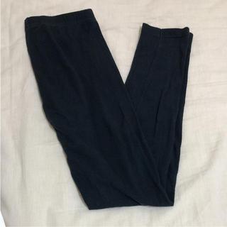 ムジルシリョウヒン(MUJI (無印良品))の無印良品 10分丈レギンス ブラック S(レギンス/スパッツ)