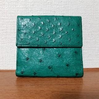 オーストリッチ(OSTRICH)の美品 無双仕立てオーストリッチ 財布(財布)