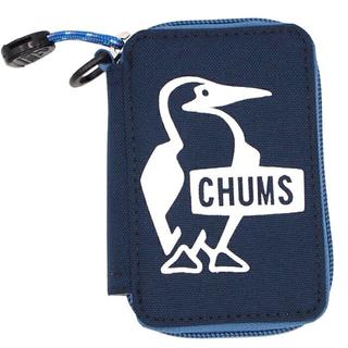 チャムス(CHUMS)のチャムス  エコキージップケース 〈ネイビー〉(キーケース)