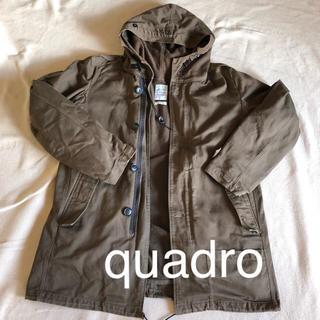 クアドロ(QUADRO)のモッズコート quadro メンズ レディース どちらても!(モッズコート)