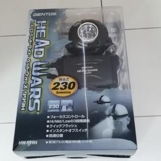 ジェントス(GENTOS)の【新品】 GENTOS(ジェントス) LED ヘッドライト HW-999H(ライト/ランタン)