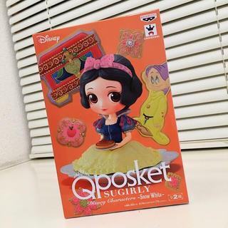 シラユキヒメ(白雪姫)のレアカラー Qposket 白雪姫 フィギュア(キャラクターグッズ)