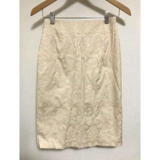 グラスライン(Glass Line)のGLASS LINE タイトスカート ひざ丈スカート 値下げ(ひざ丈スカート)