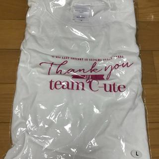 キュート(℃-ute)の°C-ute ラストコンサートinさいたまスーパーアリーナ Tシャツ(アイドルグッズ)