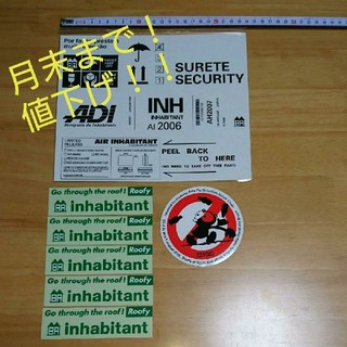 インハビダント(inhabitant)のinhabitant  インハビタント ◆ お得な ステッカー 7枚セット(その他)