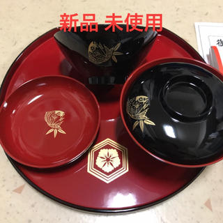 お食い初め 食器セット 新品 未使用(お食い初め用品)