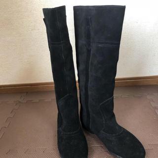 ヌォーボ(Nuovo)の本革 スウェードブーツ  (ブーツ)
