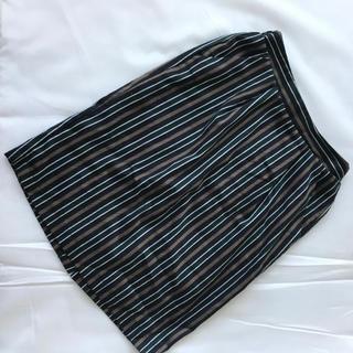 イェッカヴェッカ(YECCA VECCA)のイェッカヴェッカ ストライプスカート(ひざ丈スカート)